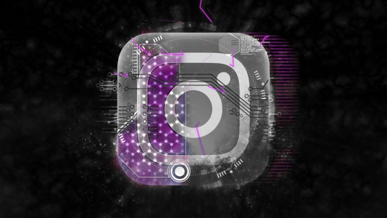 Instagram Logo Black Background